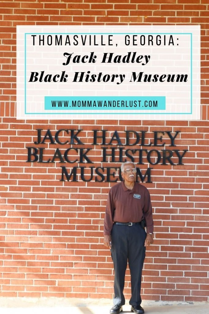 Jack Hadley Black History Museum Tour featured by top BIPOC family travel blogger, Momma Wanderlust