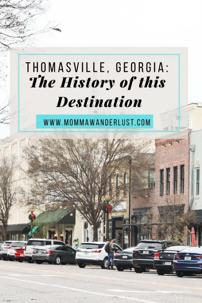 Thomasville GA, a historical travel guide featured by top US family travel blogger, Momma Wanderlust