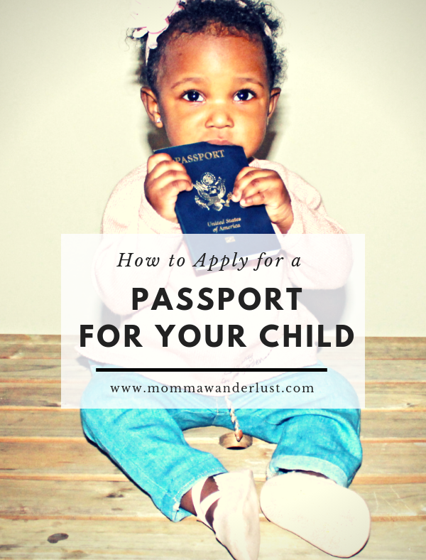 How to Apply for a Passport for Your Child