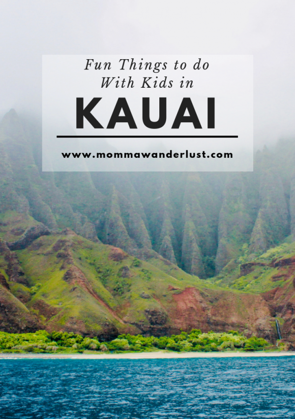 Fun Things to do with Kids in Kauai