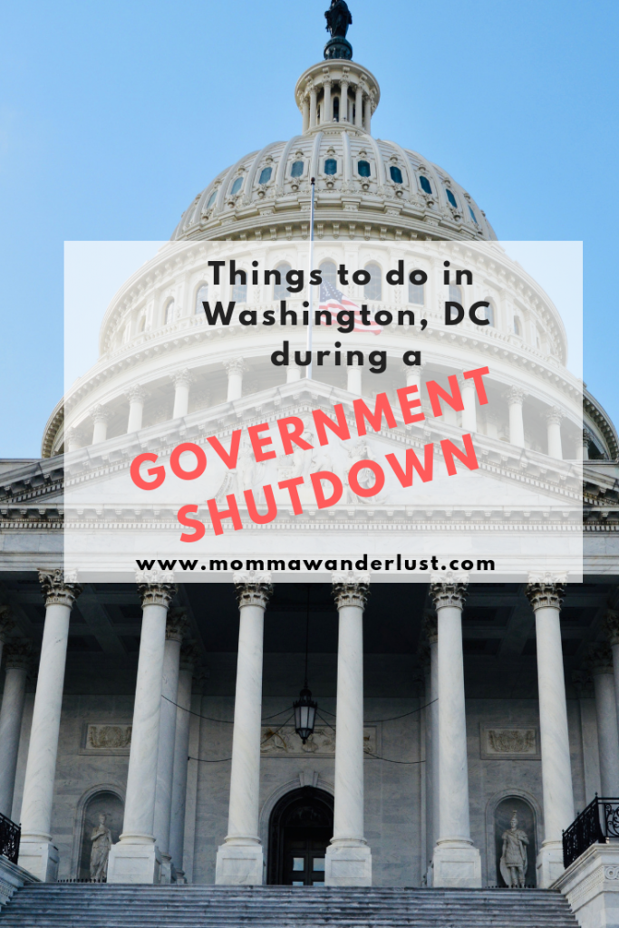 Things to do in Washington, DC during a Government Shutdown