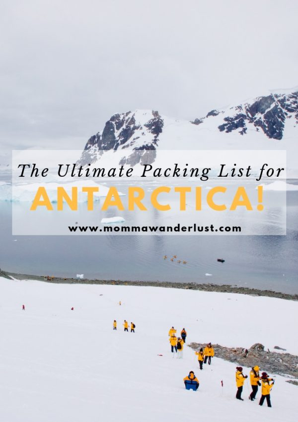 The Ultimate Packing List for Antarctica