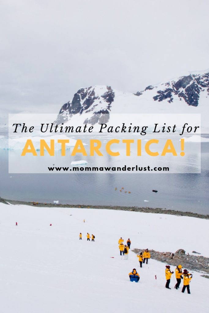 The Ultimate Packing List for Antarctica featured by top BIPOC travel blogger, Momma Wanderlust