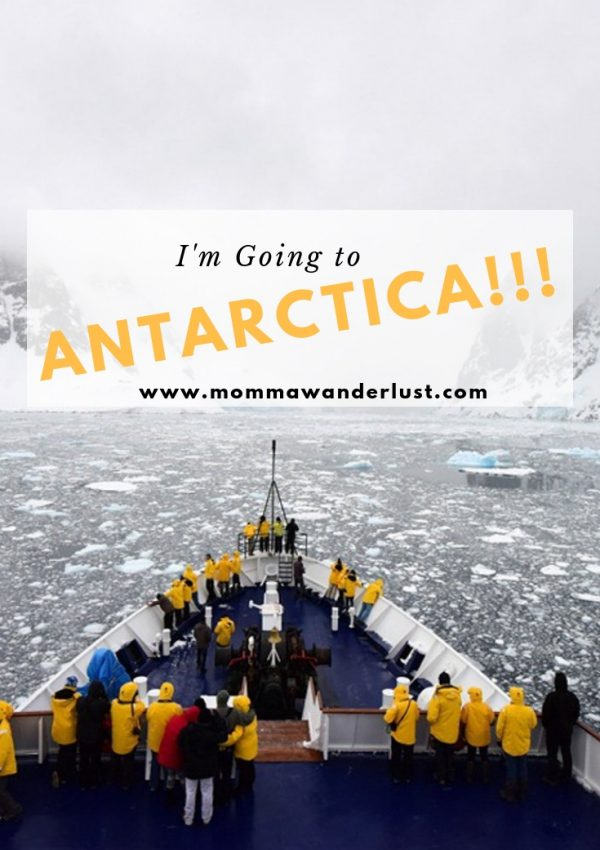 I'm Going to ANTARCTICA!