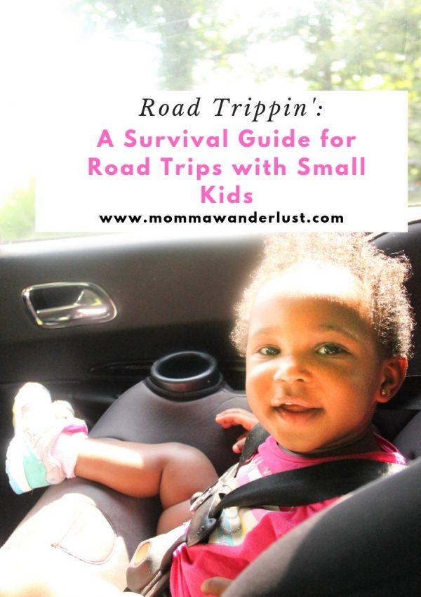 Road Trippin':  A Survival Guide for Road Trips with Small Kids