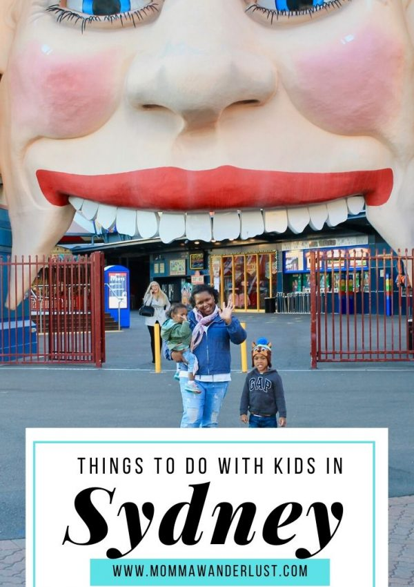 Things to do with Kids in Sydney