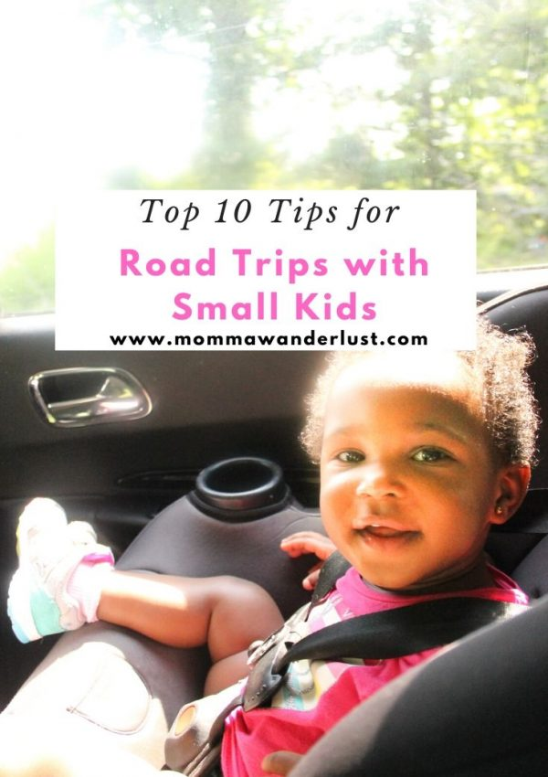 Top 10 Tips for Road Trips with Small Kids