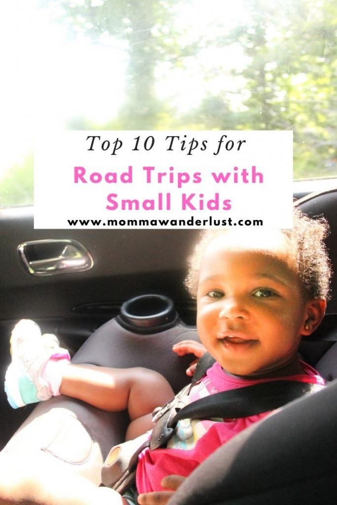 Road Tripping with Small Kids: tips featured by top US family travel blogger, Momma Wanderlust