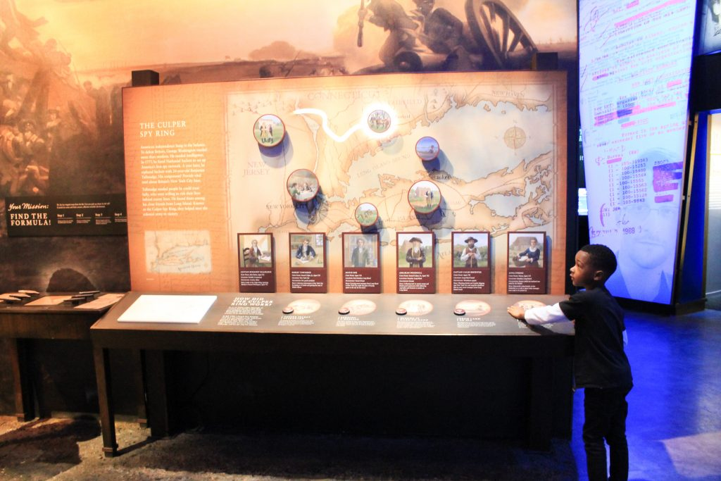 A Visit to the International Spy Museum in Washington DC featured by top US family travel blogger, Momma Wanderlust