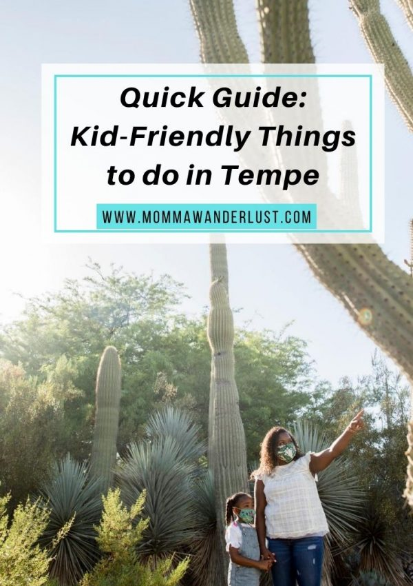Quick Guide: Kid-Friendly Things to do in Tempe