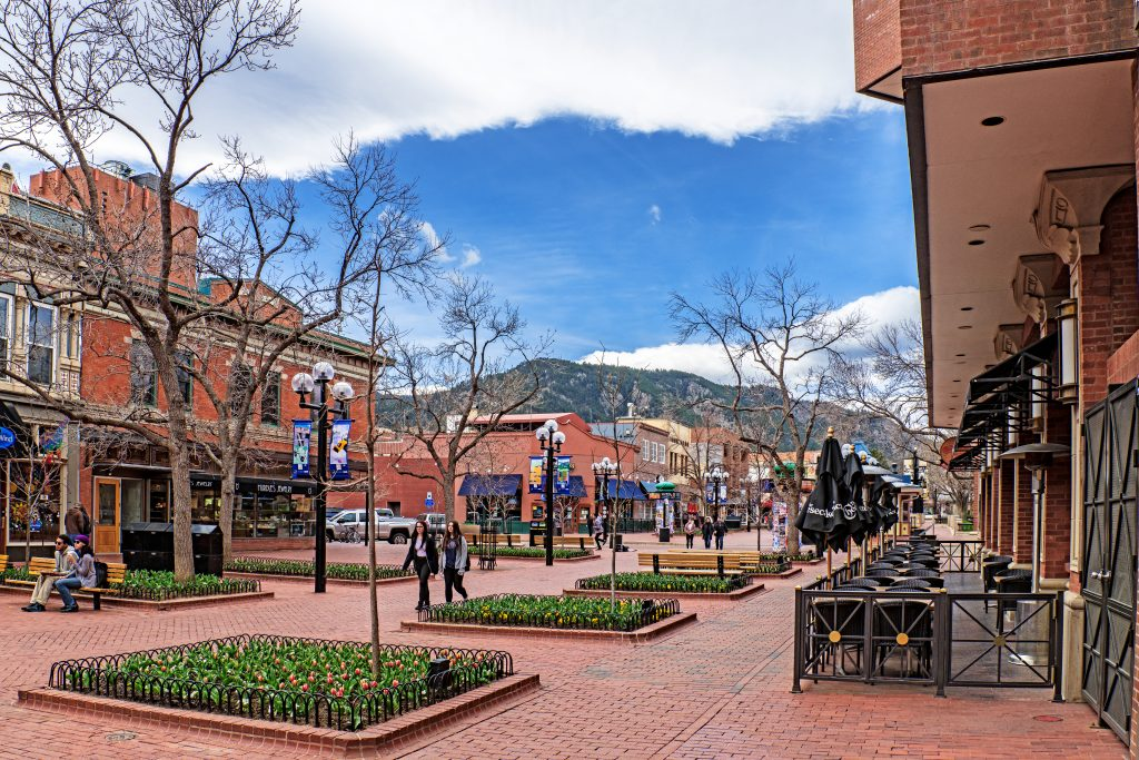 US Places to Go for Spring Break in 2021 featured by top BIPOC family travel blogger, Momma Wanderlust: Boulder, Colorado
