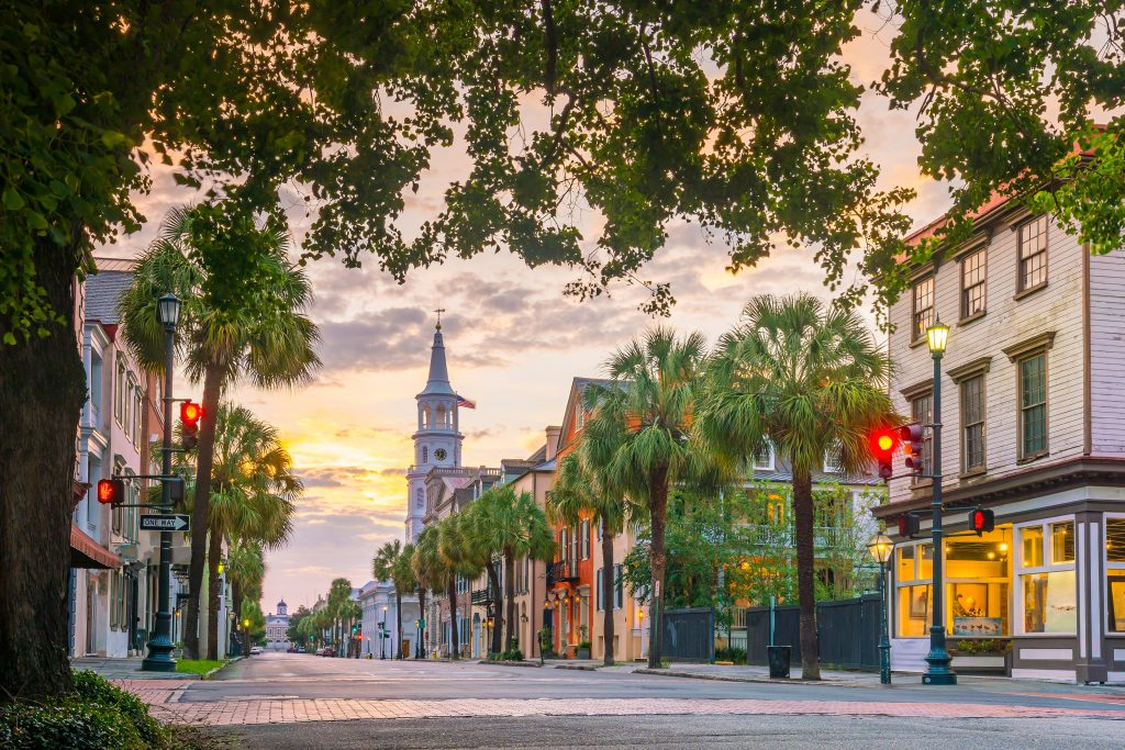 Best Places to Go for Labor Day Weekend 2021 featured by top US family travel blogger, Momma Wanderlust: Charleston, SC