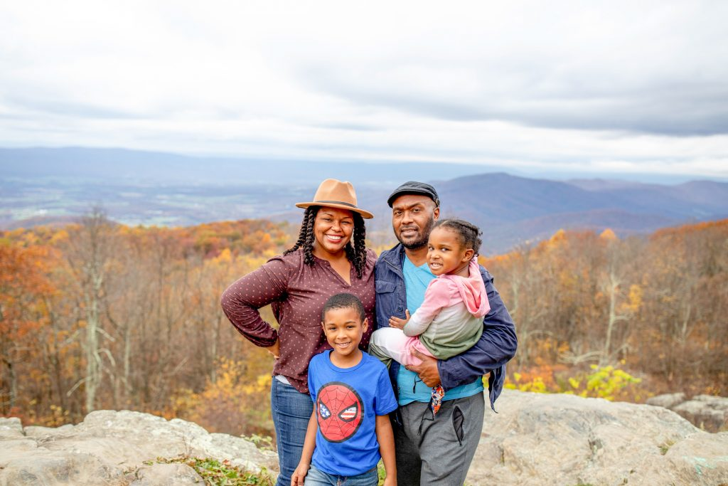 Top 10 Best Fall Foliage Road Trips in the US featured by top BIPOC family travel blogger, Momma Wanderlust: Shenandoah National Park