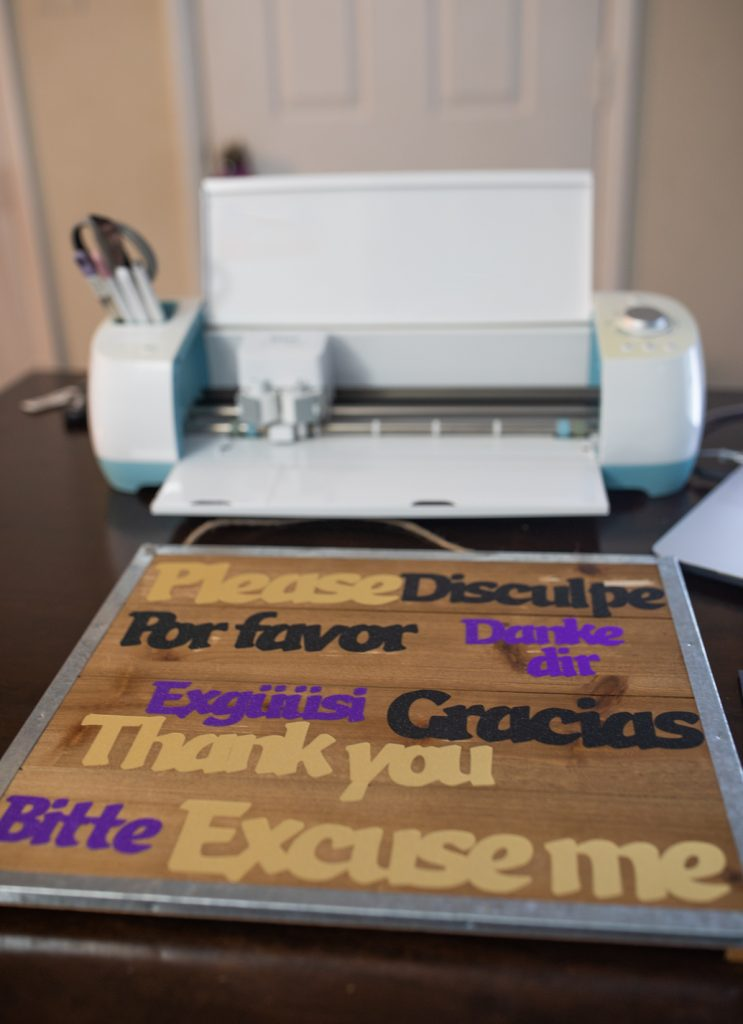 Tips to Teach Kids Manners with Cricut featured by top US lifestyle blogger, Momma Wanderlust