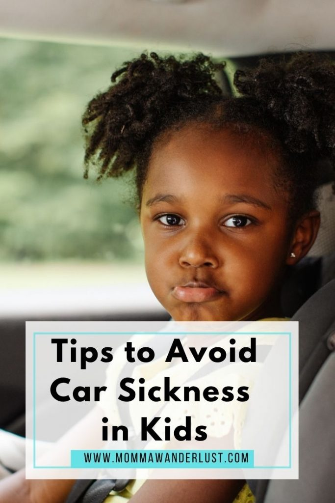 10 Essential Tips to Avoid Car Sickness in Kids featured by top US family travel blogger, Momma Wanderlust