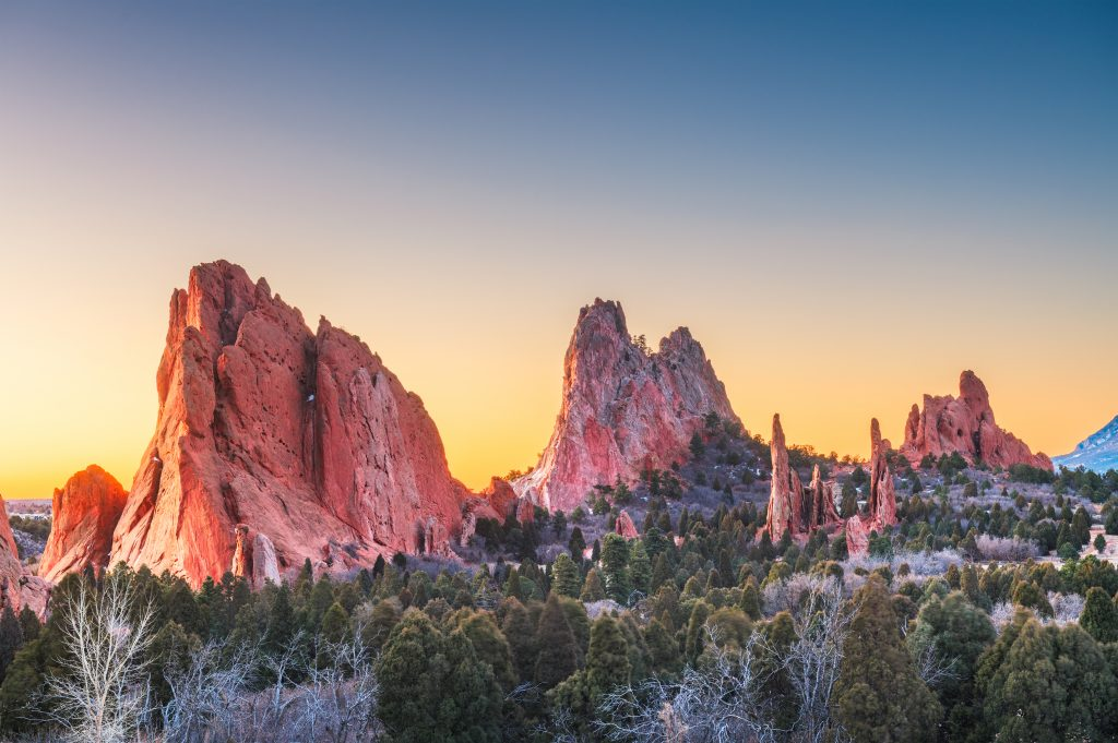 Best Places to Go for Labor Day Weekend 2021 featured by top US family travel blogger, Momma Wanderlust: Colorado Springs, CO