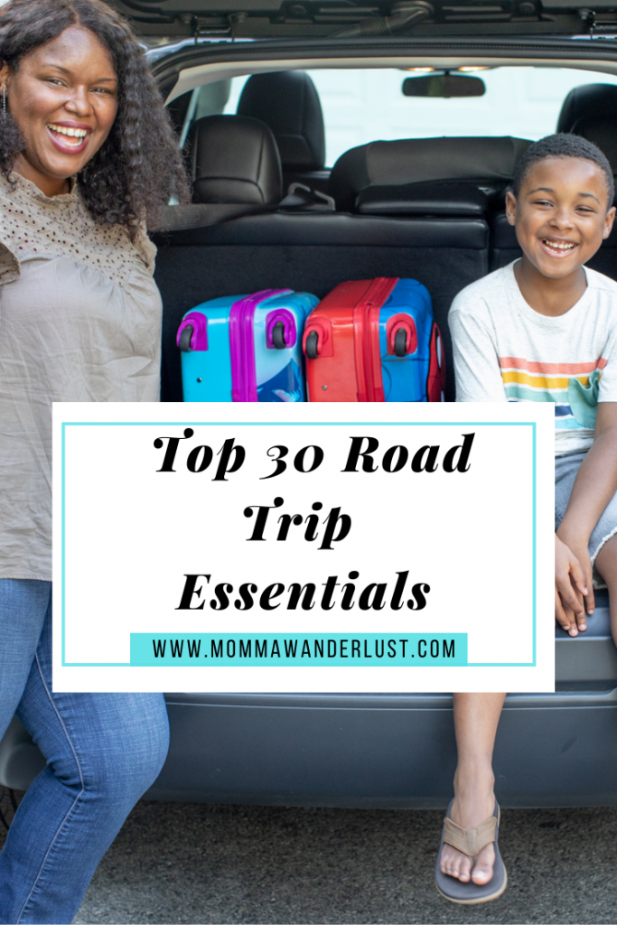 Top 30 family Road Trip Essentials, featured by top US family travel blogger, Momma Wanderlust