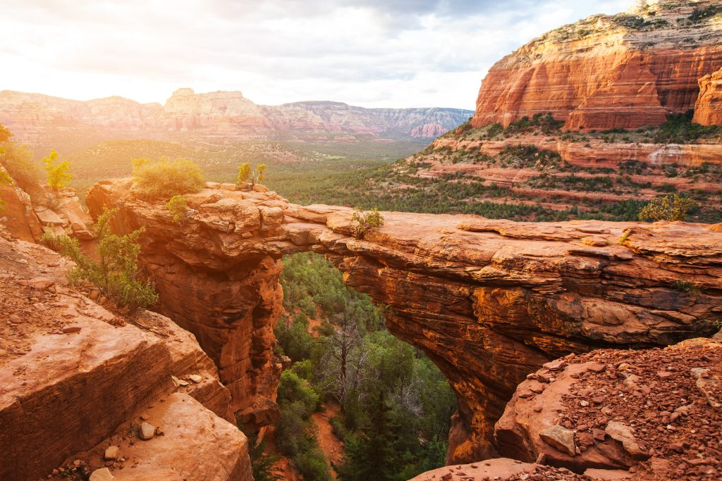 Best Places to Go for Labor Day Weekend 2021 featured by top US family travel blogger, Momma Wanderlust: Sedona AZ